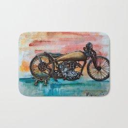 Antique Bike Bath Mat