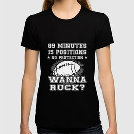 Funny Novelty Gift For Rugby Player T-shirt