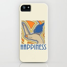 Blue Bird of Happiness iPhone Case