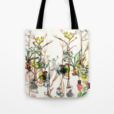 Potted Plants Tote Bag