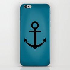 Blue Anchor iPhone & iPod Skin