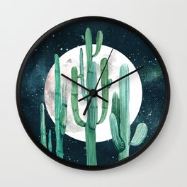 Desert Nights 2 Wall Clock