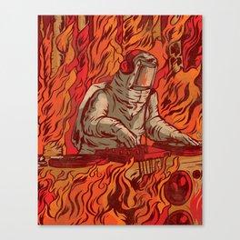 It's Lit Canvas Print
