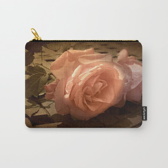 Rose Shadows Carry-All Pouch