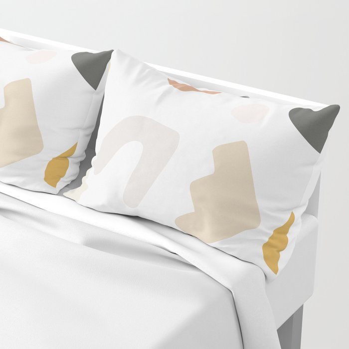 Abstract Shape Series - Autumn Color Study Pillow Sham