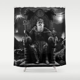 IV. The Emperor  Shower Curtain