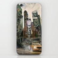 bastille iPhone & iPod Skins featuring Bastille - Pompeii by Thafrayer