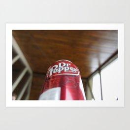 Mmmm....Dr. Pepper Art Print
