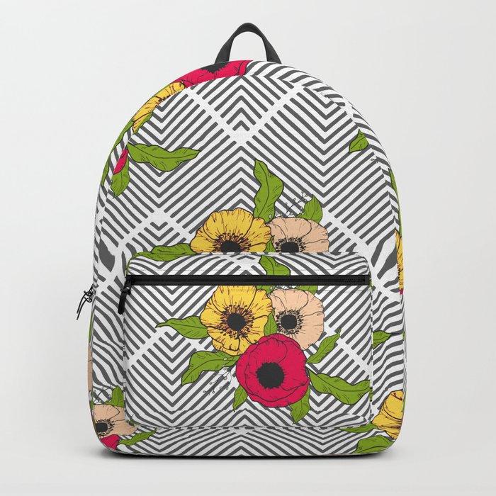 Geometric Garden #society6 #decor #buyart Backpack