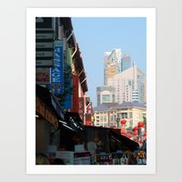 singapore Art Prints featuring Singapore by Irma Rose Photography