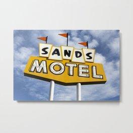 Sands Motel Metal Print
