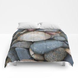 Rocks, Carlsbad Tide Pools, Carlsbad, CA. Comforters