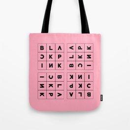 Blackpink Square Up PINK V1 Tote Bag