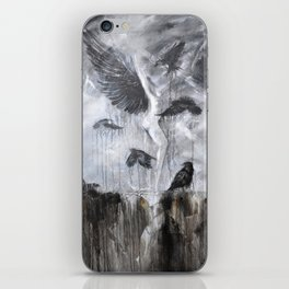 Fly Raven - fly iPhone Skin