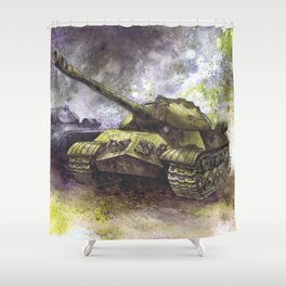 World War Two Shower Curtains
