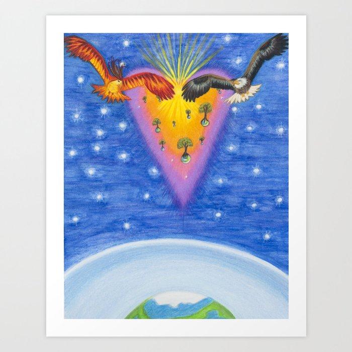Eagle's Flight Art Print