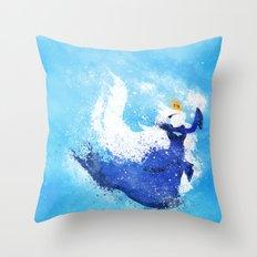 Freeze! Throw Pillow