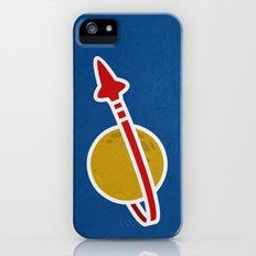 Blue Spaceman Slim Case iPhone (5, 5s)