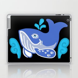 Whale's Day in the Sea...Surf's Up! Laptop & iPad Skin