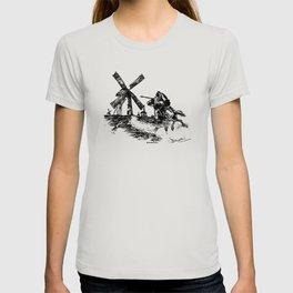 Don Quixote Windmill T-shirt