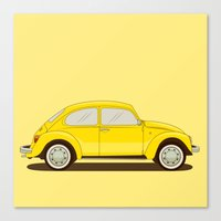 vw Canvas Prints featuring VW by Robert Gustafsson