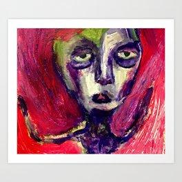 Her Moss. Art Print
