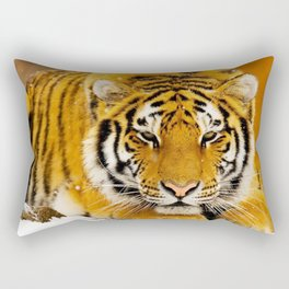 Siberian Tiger Rectangular Pillow