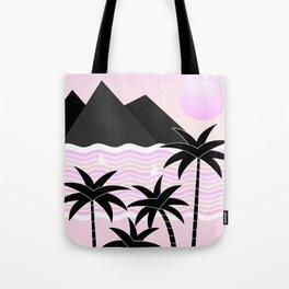 Hello Islands - Pink Skies Tote Bag