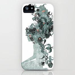 Freya's Hair (Teal) iPhone Case