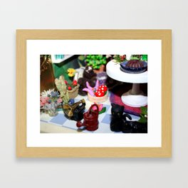 Room Of The Green Witch Framed Art Print