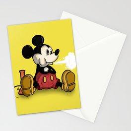 MickeyMouse Smoking Stationery Cards