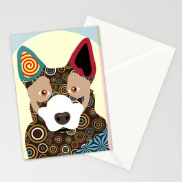 Australian Cattle Dog Stationery Cards