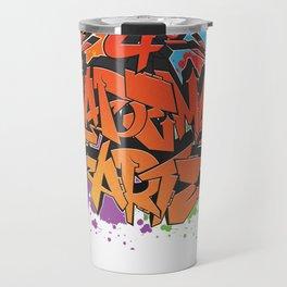 4º DiadeMais Arte Travel Mug