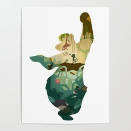 """Bear"" Necessities Poster"