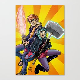 Scott & Ramona Canvas Print