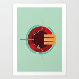 A Transistor Art Print