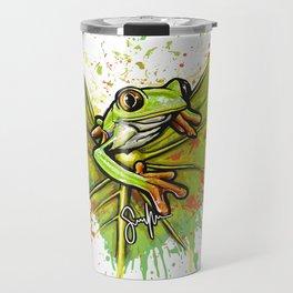 Red-eyed tree frog Travel Mug