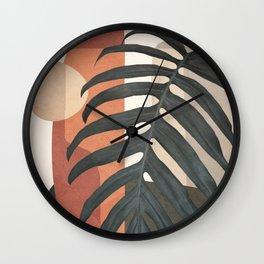 Soft Shapes VI Wall Clock