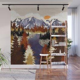 Autumn River Wall Mural
