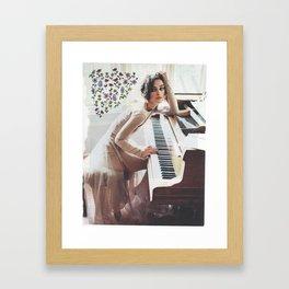 the keira add Framed Art Print