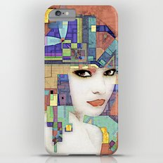 Nouveau Girl 2 (aged finish) iPhone 6 Plus Slim Case