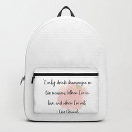 Champagne love II Backpack