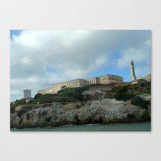 Alcatraz Island Canvas Print
