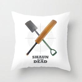 Shaun of the Dead - Alternative Movie Poster Throw Pillow