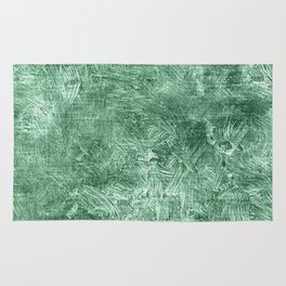 Grayed Jade Oil Painting Color Accent Rug