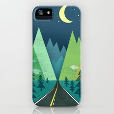 The Long Road at Night Slim Case iPhone (5, 5s)