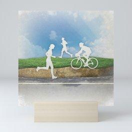 Get Outside Mini Art Print