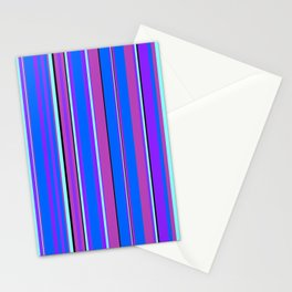 Stripes-010 Stationery Cards