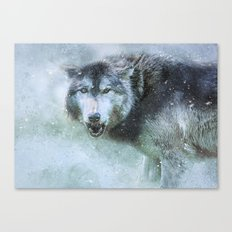 The Leader of the Pack Canvas Print