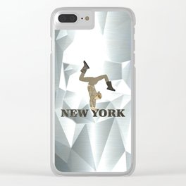 Gymnastics New York Clear iPhone Case